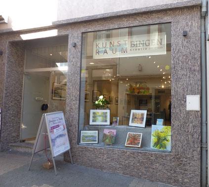 Im Kunstraum Bingen in der Salzstrasse 14 in 55411 Bingen finden wechselnde Ausstellungen statt.