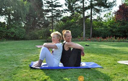 Iyengar Yoga Retreat Amrum 2021 mit Christine Bader