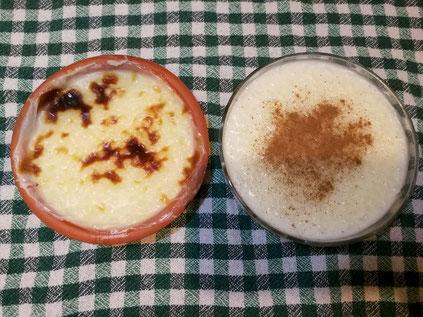 Türkischer Milchreis Sütlac mit Zimt