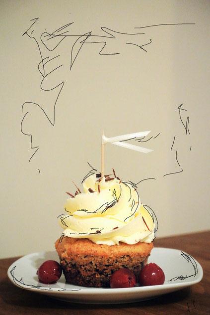 'Cupcakes à la Donauwelle'