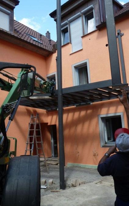Vordächer bei Duran Wagner - Metallbau und Schlosser Würzburg, Kitzingen, Ochsenfurt und Umgebung
