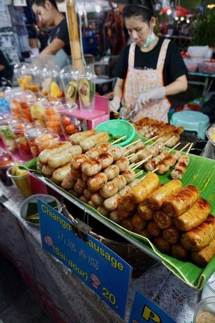 Essensstand, Markt
