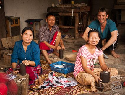 fabrication artisanale de bijoux en argent massif