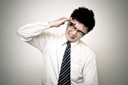 頸椎ヘルニアで頭痛のある奈良県香芝市の男性