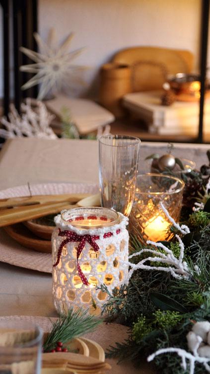 weihnachtsdeko diy,weihnachtsgeschenke selber machen,weihnachtsdekoration,tischdeko weihnachten,häkeln,weihnachten häkeln