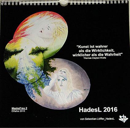 """Kalender 2016"" von Sebastian Löffler_HadesL"