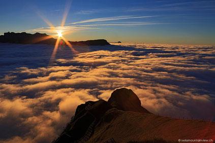 Männlichen - Gipfelerlebnis mit Übernachtung - 07.10.2013