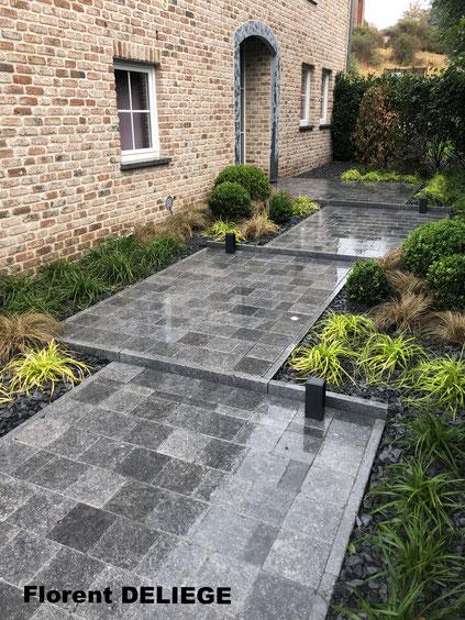 entreprise aménagement extérieur complet a à z province de Liège contemporary landscaping