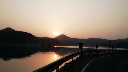 西郷湾 朝陽