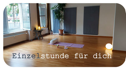 Einzelstunde Yoga Yoga für den Rücken Rückenyoga Eva Metz Heidelberg Entspannung Pilates
