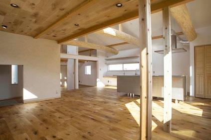 自然素材の家・注文住宅