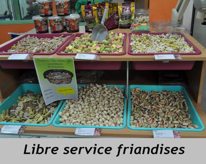 buffet de friandises canicoiff