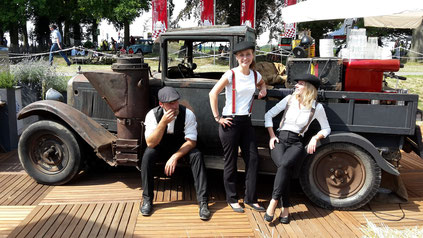 mobile Kaffeebar. Schloss Dyck. Classic Days.