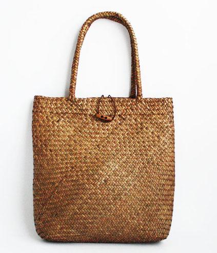 台湾 草編みかばん