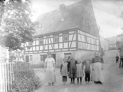 Bild: Wünschendorf Erzgebirge Bäcker Auerbach