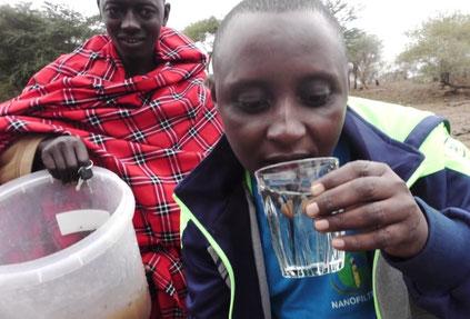Dr. Hilonga sauberes Trinkwasser Afrika