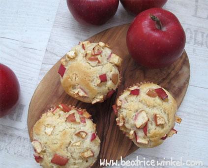 Beatrice Winkel - Doppel-Apfel-Muffins