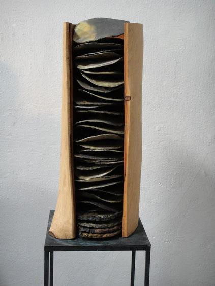 Schichtungen     H 62cm x Durchmesser 23 cm