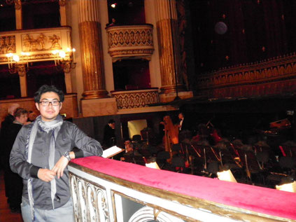イタリア3大歌劇場の一つ ナポリ・サン・カルロ劇場にて