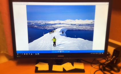 Norwegen, Skifahren, Narvik,