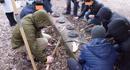 Survival Training,  Winter