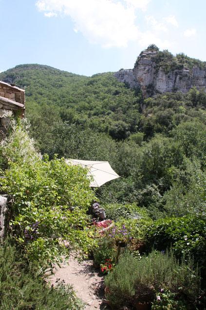 Bild: Wärterhäuschen Fort de Buoux