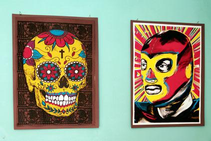 kunstdruck-sugarskull-poster-mexikanische-ikonen