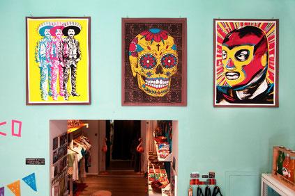 mexikanisches-siebdruck-poster-zapata-mexican-art