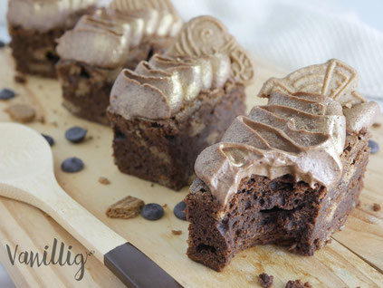 Spekulatius Brownie