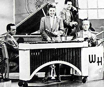 Margie Hyams con W. Herman-jazz y mujer
