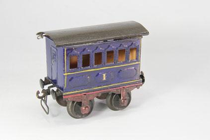 Märklin Personenwagen Nr. 1805/1 in blau.