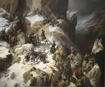 A. Kotzebue: Suworow auf dem Panixerpass