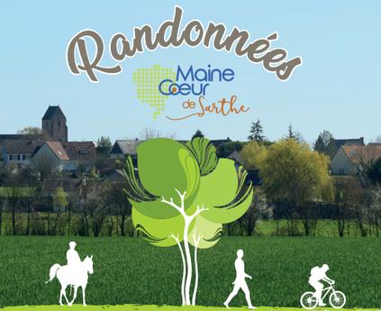 Guide de randonnée Maine Coeur de Sarthe