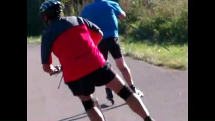 Sportliche Spiesse - aber fatal gefährlich . . na ok, dann besser mal schnell hinter sich bringen . . . . . . . .