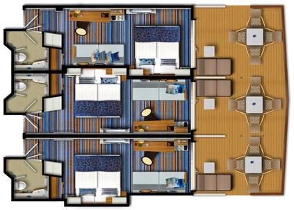 Mein Schiff 3 Kombi Balkonkabine