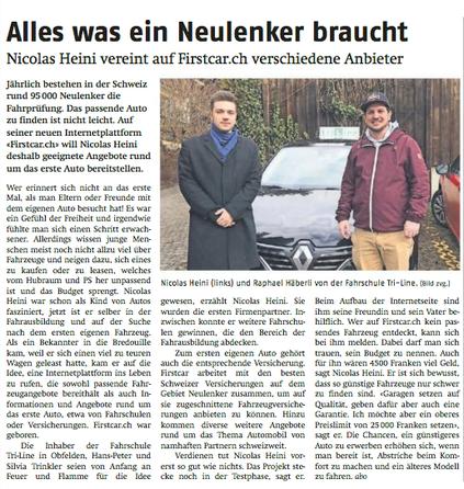 Affoltern Anzeiger, 5.1.2018
