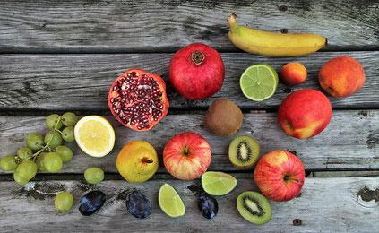 Obst für die Fastenkur