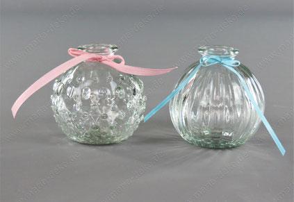 Blumenvase rund mieten, Runde Vasen mieten
