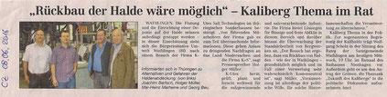 Quelle: Cellesche Zeitung, 08.06.2016