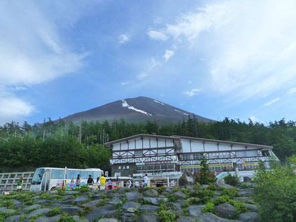 富士吉田口5合目からの富士山