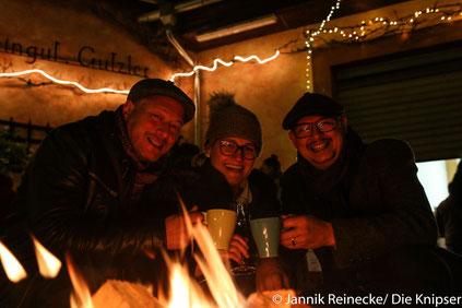 Der Glühwein auf dem Gundheimer Weihnachtsmarkt schmeckte gut.