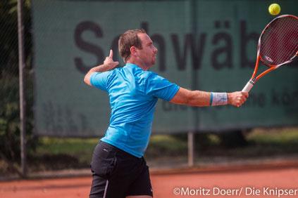 Florian Schwarze für die TGO Tennis.