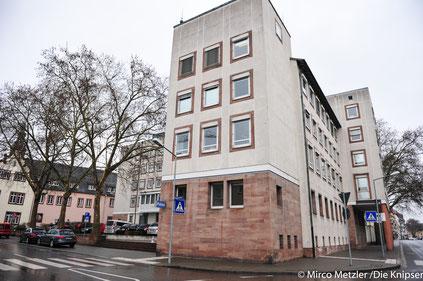 Das Präsidium der Polizeidirektion Worms in der Hagenstraße.
