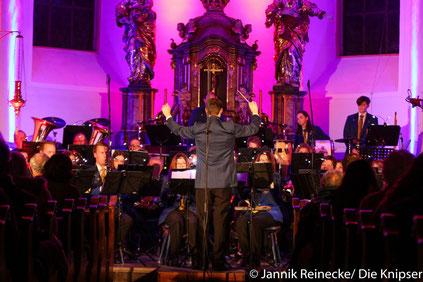 Das Orchester des KMV war über 40 Mann stark.