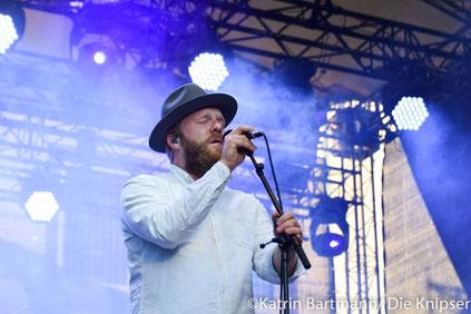"""Alex Clare stellte am Sonntagabend sein neues Album """"Tale of Lions"""" vor."""