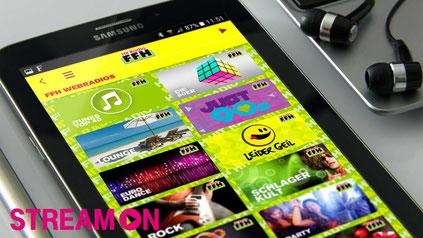 """Ohne Datenvolumen zu verbrauchen FFH-Webradios und Podcasts hören, ist jetzt mit der Option """"StreamOn"""" der Telekom möglich: Der Mobilfunkanbieter und HIT RADIO FFH sind ab sofort Partner."""