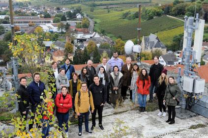 Vor-Ort-Besichtigung auf dem Schill-Turm am Mittwoch (11.10.2017) in Osthofen.