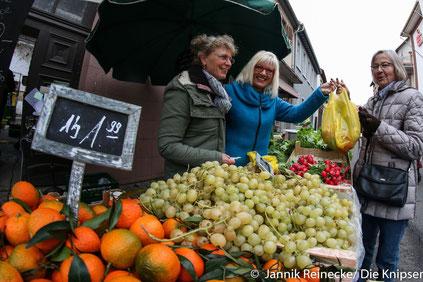 Gemüse Becker hatte am 5. November auch geöffnet.