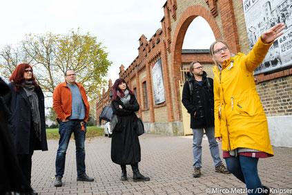 OV Wonnegau besucht mit Landtagsabgeordnete Pia Schellhammer die Gedenkstätte KZ Osthofen