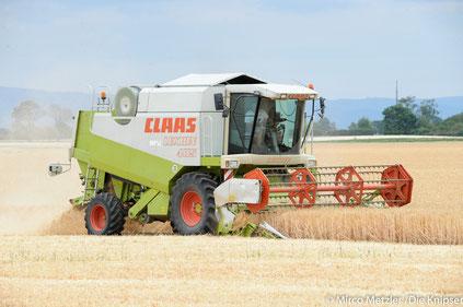 Vorsicht: Bauernglatteis während Erntezeit